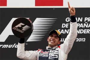 Venezuela's Maldonado wins Spanish Grand Prix