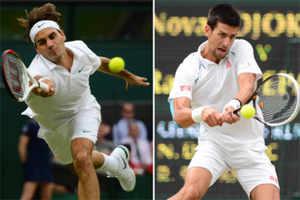 Roger vs Novak: The feeling is mutual!