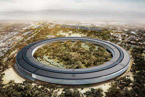 Apple's 'spaceship' headquarters delayed