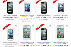 Apple iPhone 5 available at Rs 42,990