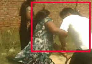 Ludhiana: Four men beat up woman in public