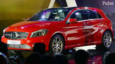 Mercedes Benz Drives In A Class Hatchback At Rs 22l Times