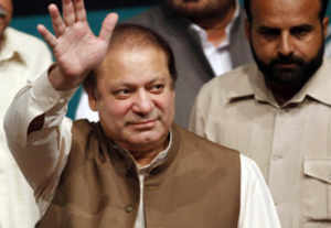 Nawaz Sharif elected Pakistan's PM for third time