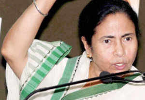 Mamata visits rape victim's family; loses cool