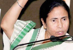 Mamata visits rape victim's family; loses cool