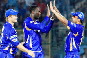 Rajasthan Royals thrash Perth Scorchers to reach CLT20 semis