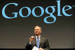 "Google chairman Eric Schmidt admits ""biggest mistake"""