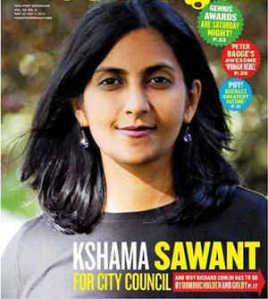 Pune-born socialist Kshama Sawant scores for Seattle: Record $15 an hour minimum wage for workers