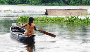 Five districts affected by flood in Assam