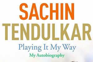 Tendulkar's autobiography releasing Nov 6