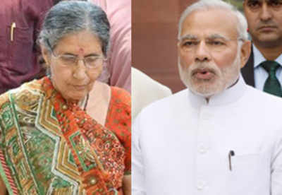 Scared of her guards, PM Narendra Modi's wife Jashodaben ...