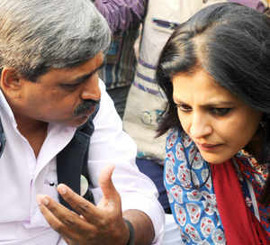 BJP keen on contesting Shazia Ilmi against Arvind Kejriwal