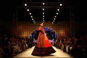 AIFW finale: Designers celebrate Indian heritage