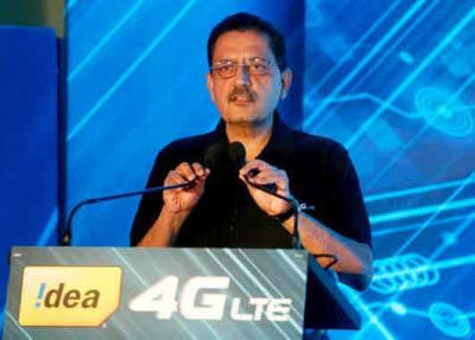 Himanshu Kapania, Idea Cellular's Managing Director. (Reuters photo)
