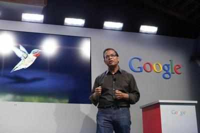 Amit Singhal, senior vice president of search at Google, in Menlo Park, California.