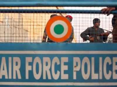 A file photo of NSG commandos guarding IAF base at Pathankot.