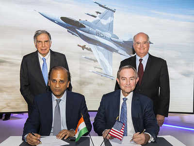 Lockheed, Tata ink pact to make F-16s | Hyderabad News ...