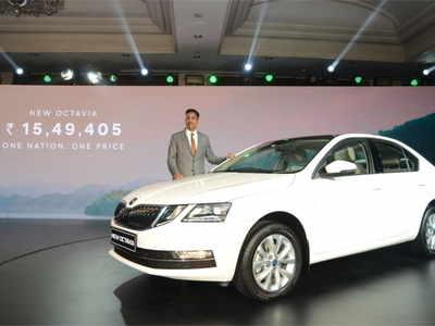 Ashutosh Dixit Director Sales Service Marketing At Skoda Auto India Launches The