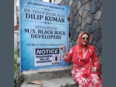 Dilip Kumar and Saira Banu get back the keys to their Pali ...