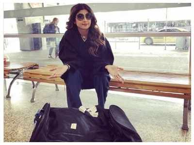 Shilpa Shetty lashes out at an Australian airline after facing racial discrimination at Sydney airport