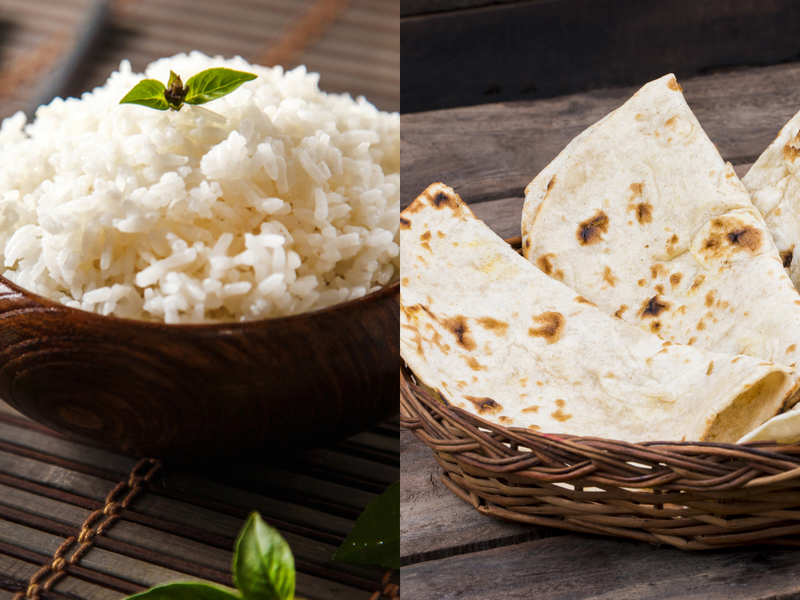 The race between rice and roti to weight loss