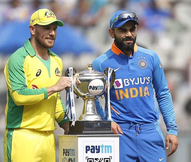 India Vs Australia Rd Odi Series On The Line As India Take On