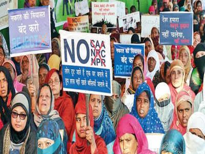 Ranchi: Shaheen Bagh-like protest near Haj House
