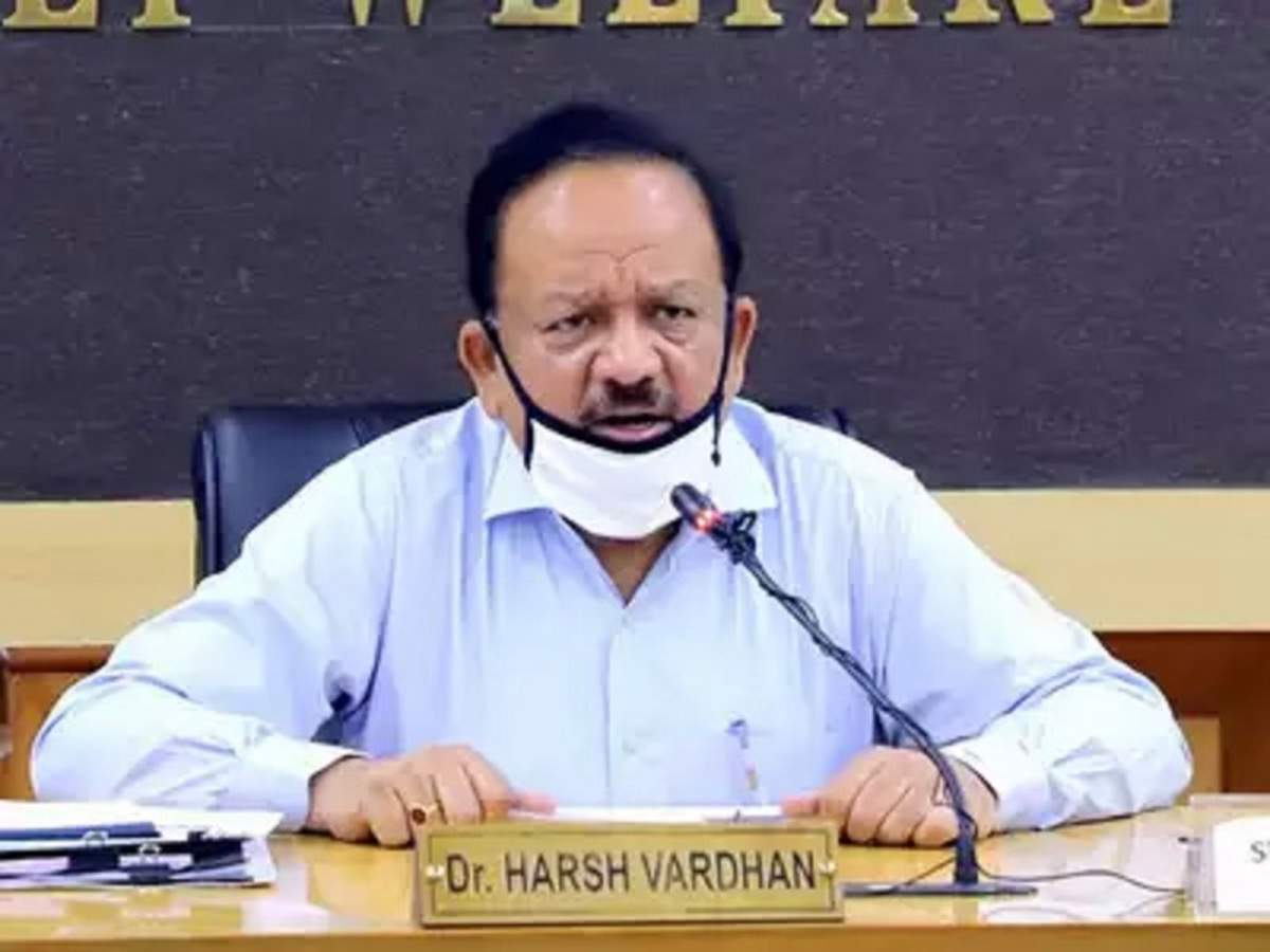Harsh Vardhan: Union health minister Harsh Vardhan to be WHO Chairman |  India News - Times of India