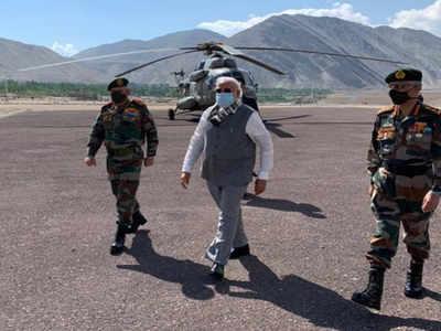 Modi Visits Ladakh In A Sudden Trip Shocking China