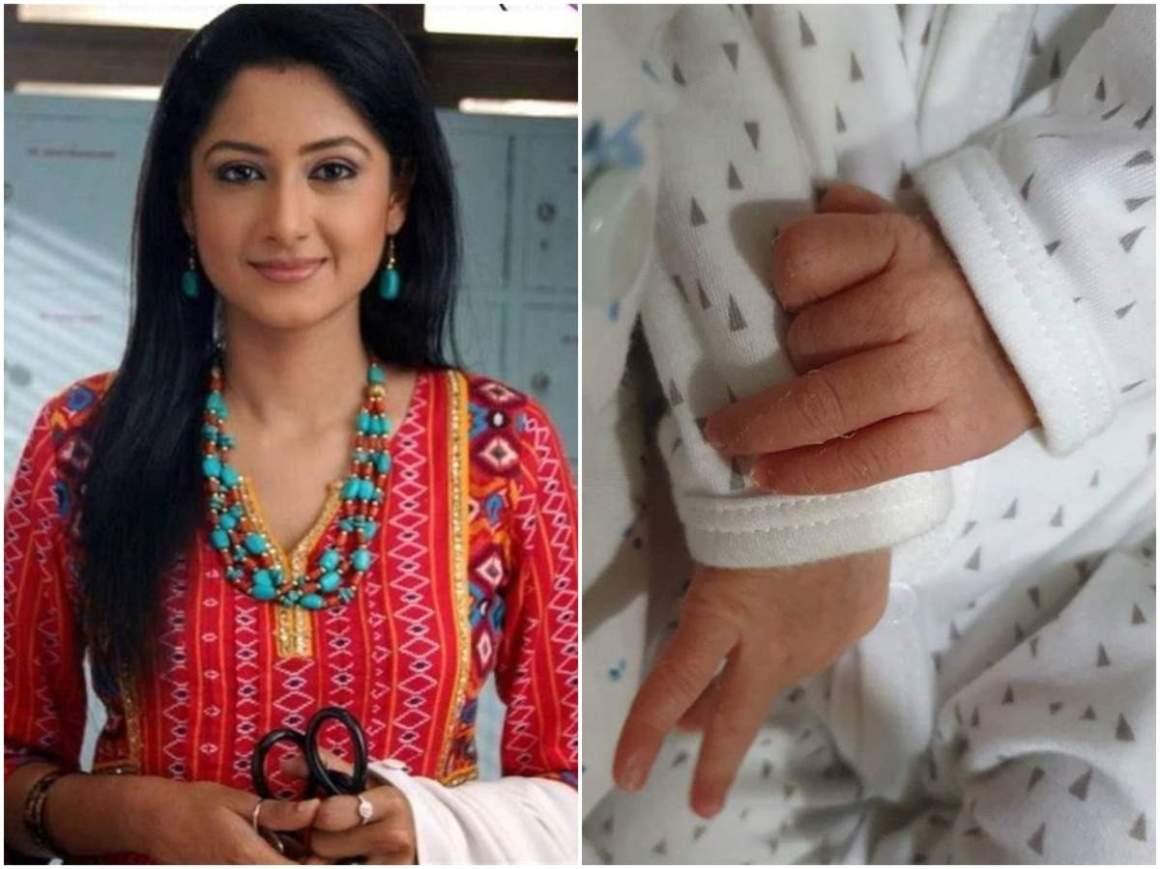 Balika Vadhu's Anjum Farooki aka Gauri blessed with a baby girl; see pic - Times of India