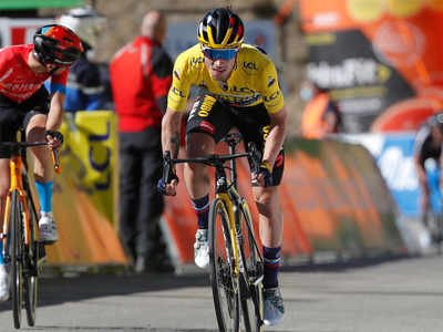 https timesofindia indiatimes com sports more sports cycling roglic consolidates paris nice lead with another stage win articleshow 81485966 cms