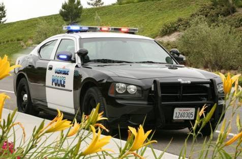 Oceanside Police Department cruiser.