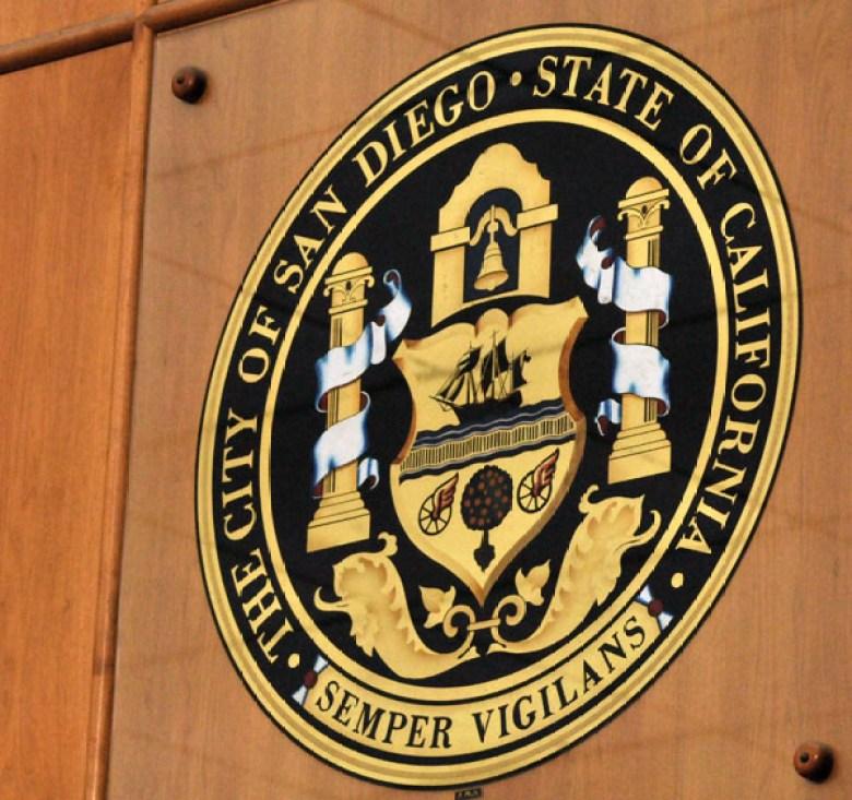 The San Diego city seal