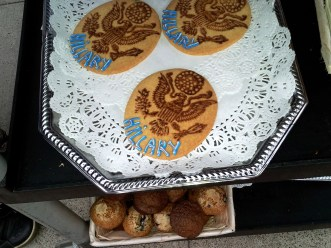 Girard Gourmet cookies carried the presidential seal.