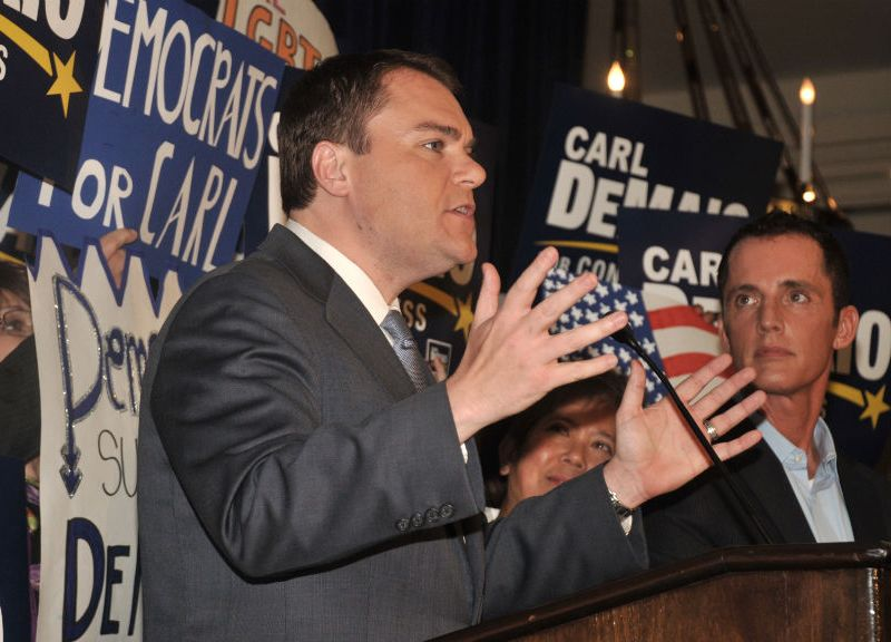 Carl DeMaio spoke to Lincoln Club at U.S. Grant Hotel.