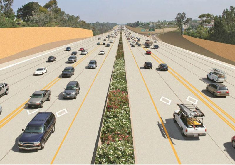Interstate 5 express lanes