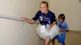 Children were among the participants at the 9/11 Memorial Stair Climb.