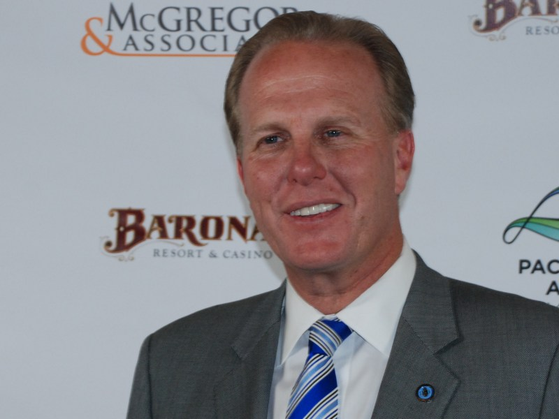 Mayor Kevin Faulconer at the Asian Film Festival