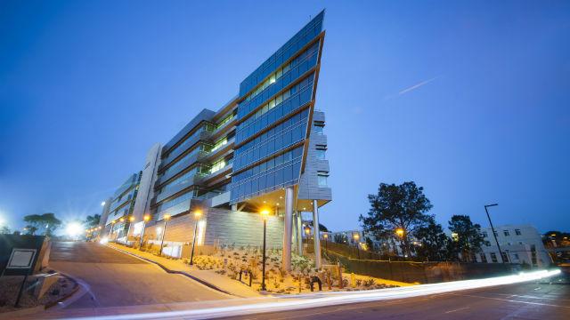 Rady School of Management building