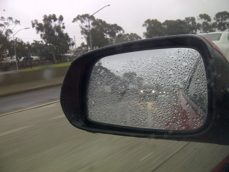 rain on the freeway