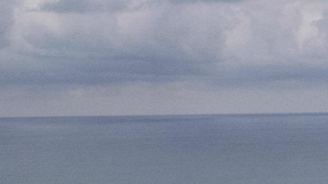 Rain clouds off Del Mar