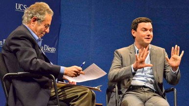 French economist Thomas Piketty prefers to call himself a social scientist and historian. Photo by Ken Stone