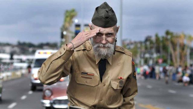 Veteran Richard Diestel