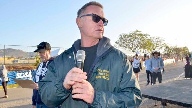 Santee Councilman Jack Dale was instrumental in bringing the men's Olympic Trials 50K race walk to his city in 2012 and 2016. Photo by Ken Stone