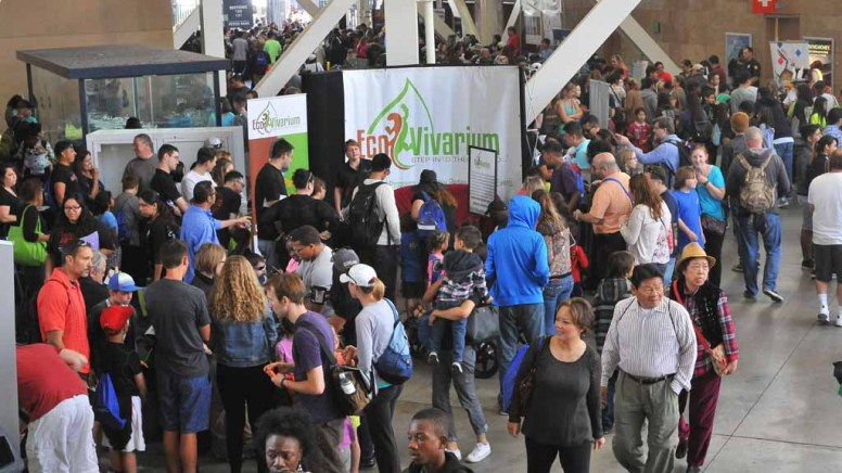 XPO Day at the San Diego Festival of Science & Engineering drew tens of thousands of visitors to Petco Park. Photo by Chris Stone