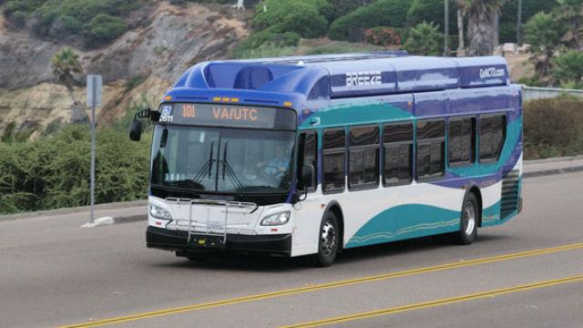 NCTD bus