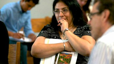 Delegates representing every parish in an Diego County took part in the synod. Photo by Chris Stone