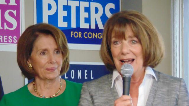 Susan Davis with Nancy Pelosi
