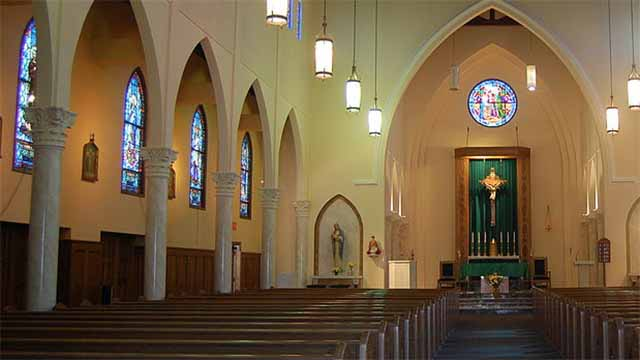 Sanctuary of St. John the Evangelist Roman Catholic Church