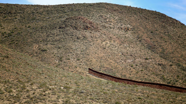 Border wall gap